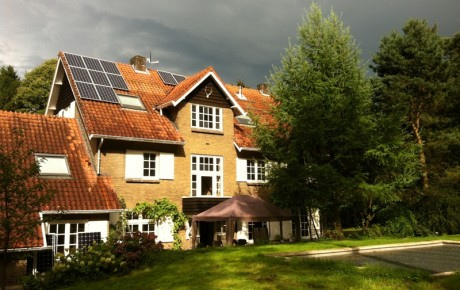 Zonnepanelen in Heilig Landstichting